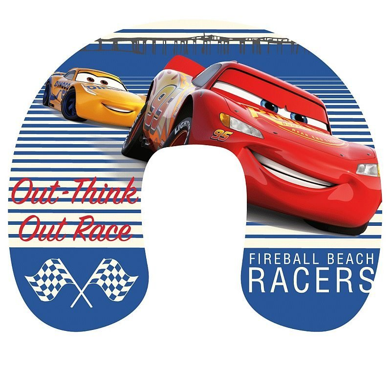 Cestovní polštářek Cars Race