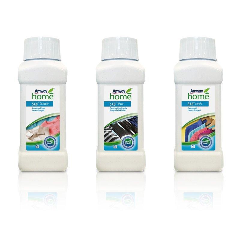 Amway Home™ Sada tří malých balení tekutých pracích prostředků SA8™ 3 x 250 ml