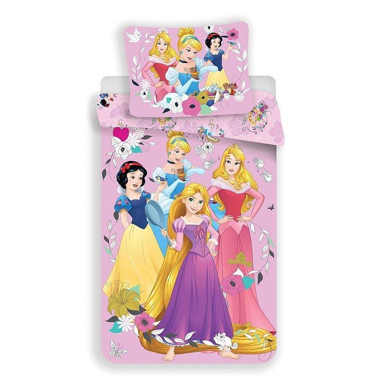 JERRY FABRICS Povlečení Princess pink 02 Bavlna, 140/200, 70/90 cm