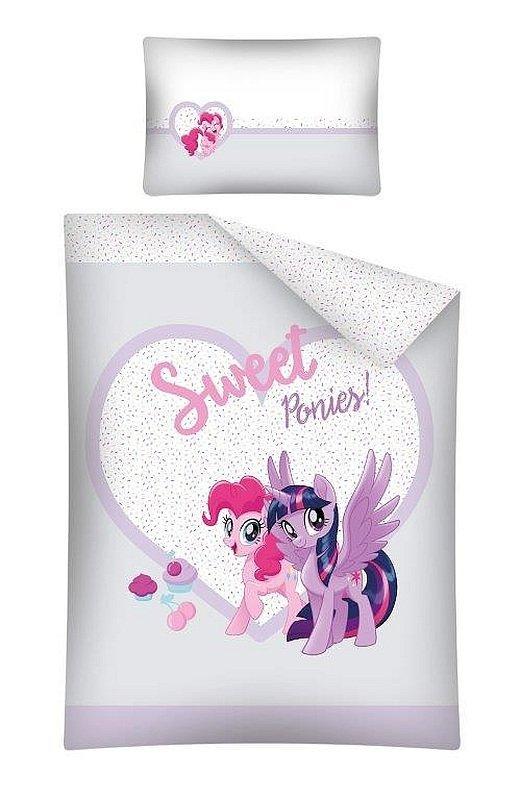 DETEXPOL Povlečení do postýlky My Little Pony Sweet Bavlna, 100/135, 40/60 cm