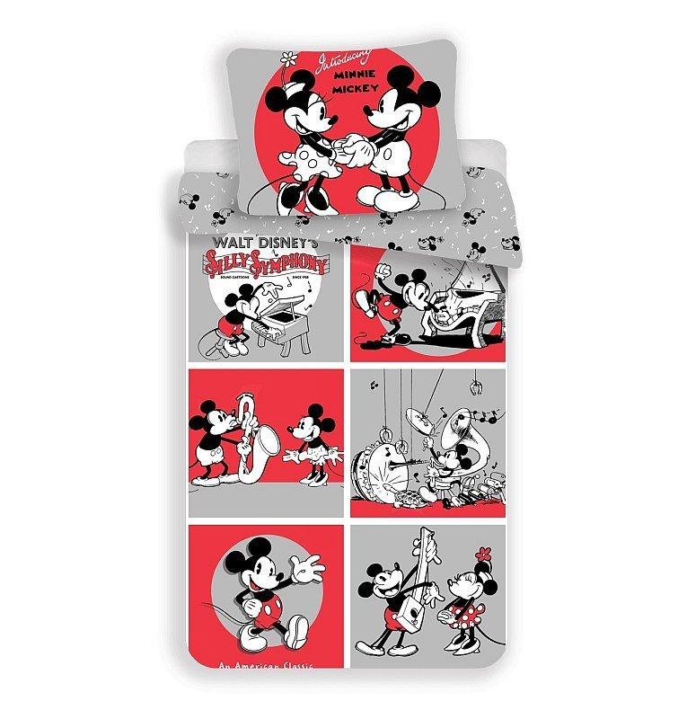 Povlečení Mickey a Minnie classics 140/200, 70/90