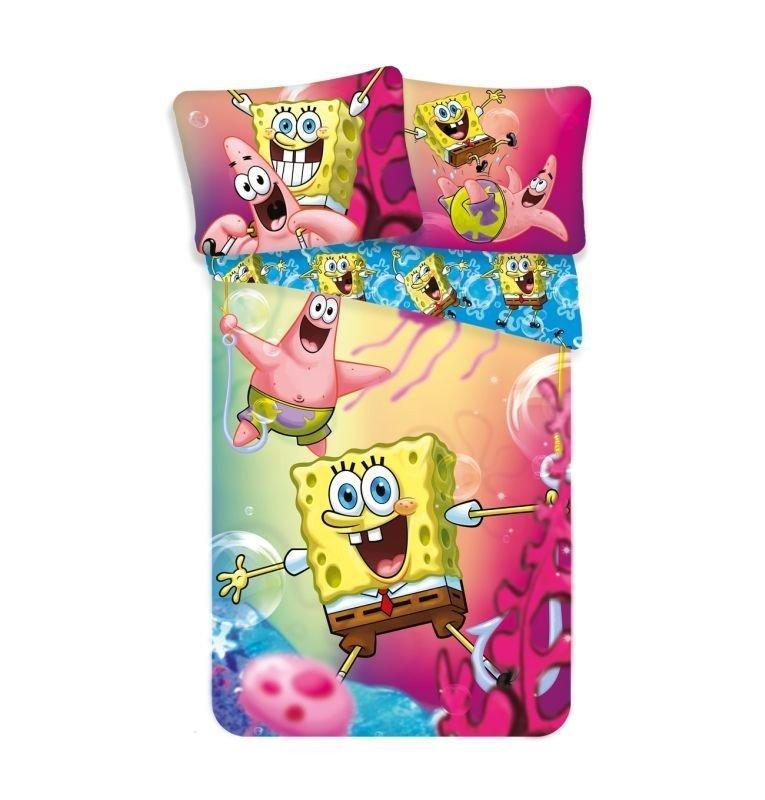 Povlečení SpongeBob 140/200, 70/90