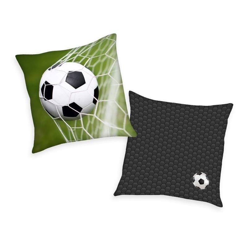 HERDING Polštářek Fotbal Polyester, 40/40 cm