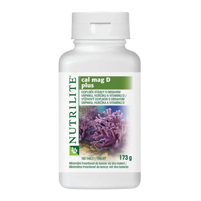 Cal Mag D Plus NUTRILITE™ 180 tablet