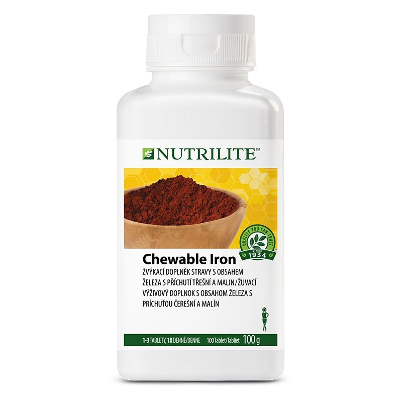 Chewable Iron NUTRILITE™ 100 tablet