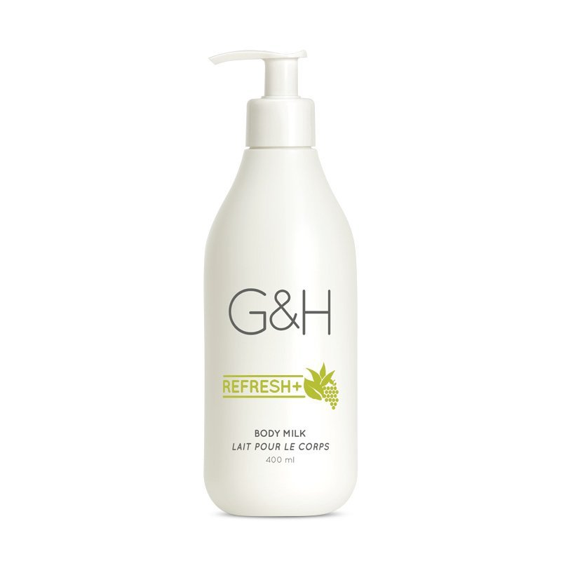 G&H REFRESH+™ Tělové Mléko 400 ml