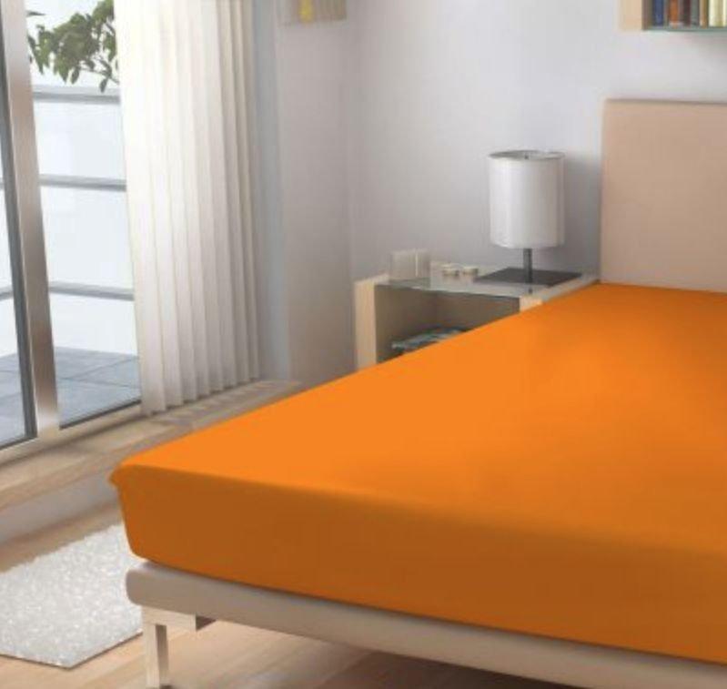 Prostěradlo Micro EXKLUSIVE Pomerančová 60/120