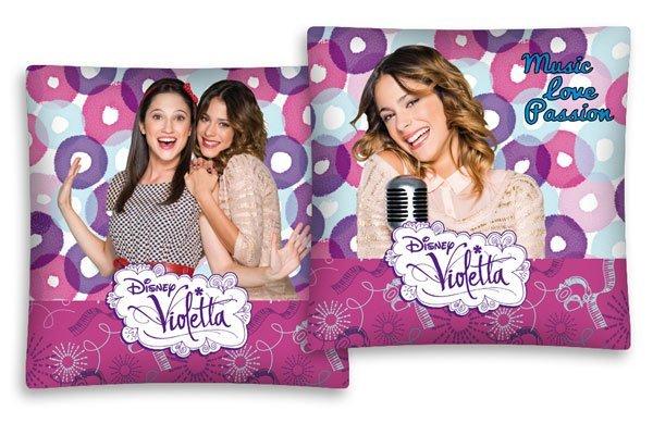 Povlak na polštářek Violetta pink 40/40