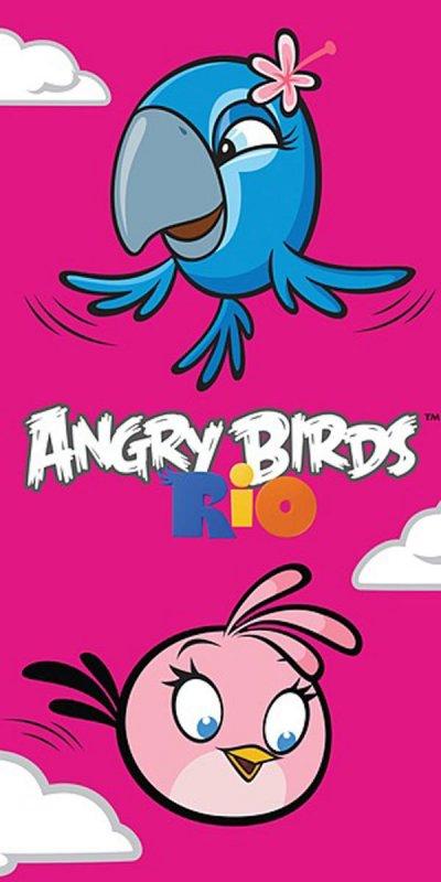 Osuška Angry Birds Rio Stella a Perla 70/140