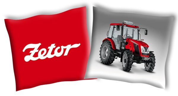 Povlak na polštářek Traktor Zetor 2 40/40