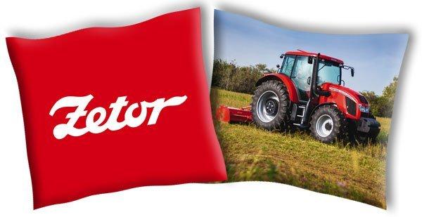 Povlak na polštářek Traktor Zetor 4 40/40