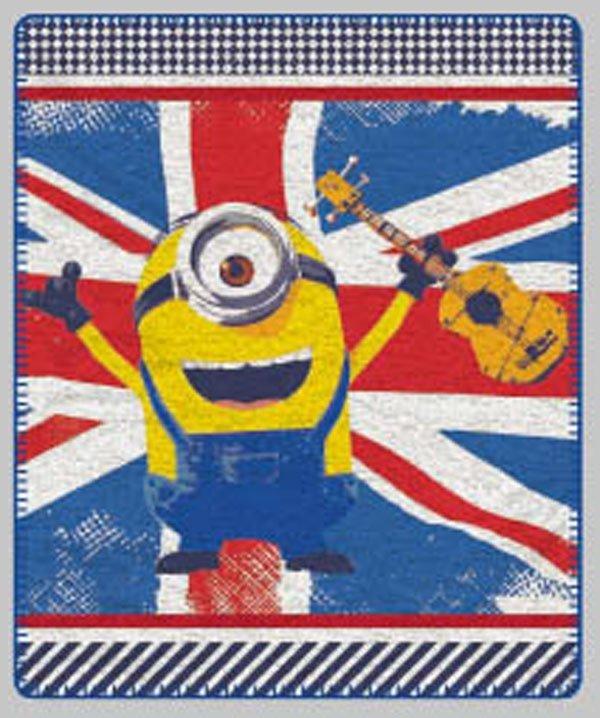 Fleece deka Mimoni vlajka 125/150 cm