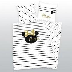 Povlečení Minnie Gold 140/200,70/90