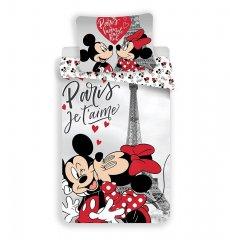 Povlečení Mickey a Minnie Paříž Eiffelova věž 140/200, 70/90
