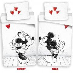 JERRY FABRICS Povlečení Mickey a Minnie láska 02 Bavlna, 140/200, 70/90 cm