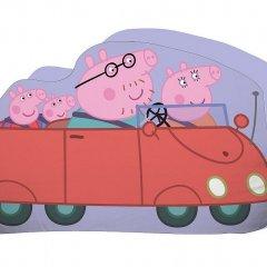JERRY FABRICS Tvarovaný polštářek Peppa Pig Polyester, 30x25x5 cm
