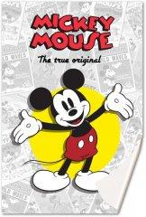 Fleece deka Mickey klasik 100/150
