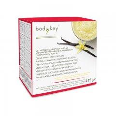 Krémový koktejl se sníženým obsahem tuků - příchuť vanilky bodykey™ 413 g