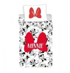 Povlečení Minnie Red Bow 140/200, 70/90