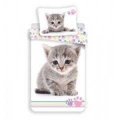 JERRY FABRICS Povlečení Kitten Colour Bavlna, 140/200, 70/90 cm