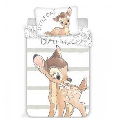 Povlečení do postýlky Bambi stripe baby 100/135, 40/60