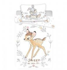 JERRY FABRICS Povlečení do postýlky Bambi sweet baby Bavlna, 100/135, 40/60 cm