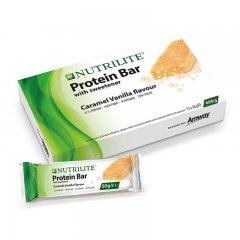 Proteinová tyčinka - příchuť karamelu a vanilky NUTRILITE™ 12 ks