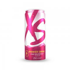 Power Drink Pink Grapefruit Blast - grapefruitová příchuť XS™ 12 x 250 ml