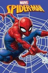 Fleece deka Spiderman web 100/150