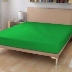 Jersey prostěradlo 90/200 sytě zelená