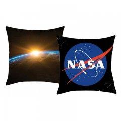 HALANTEX Polštářek NASA Black Polyester, 40/40 cm