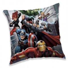 JERRY FABRICS Polštářek Avengers Fight Polyester, 40/40 cm