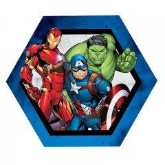 Tvarovaný polštářek Avengers group 32 cm