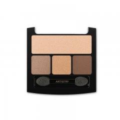 Paleta očních stínů - náplň ARTISTRY SIGNATURE COLOR™ Spice Bronze 1 x 4,5 g a 3 x 1 g