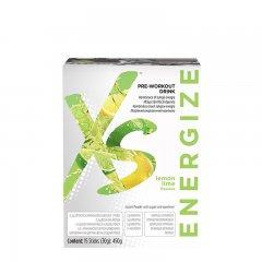 XS™ Pre-Workout Drink s příchutí citronu a limetky 450 g