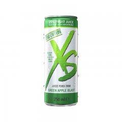 XS™ Juiced Power Drink Green Apple Blast – příchuť zeleného jablka 12 x 250 ml