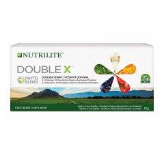 Krabička s NUTRILITE™ DOUBLE X™ Multivitaminovým, multiminerálním doplňkem stravy s fytonutrienty 186 tablet
