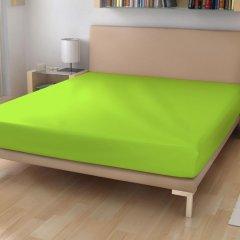 Froté prostěradlo EXKLUSIVE Neonově zelená 180/200