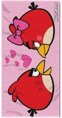Osuška Angry Birds Love 70/140