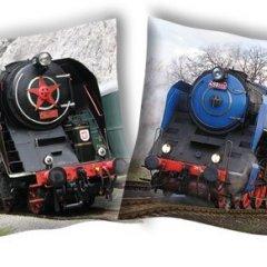 Povlak na polštářek Parní lokomotiva 2 40/40