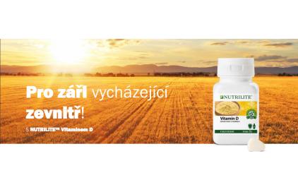 Pro záři vycházející zevnitř! NUTRILITE Vitaminu D
