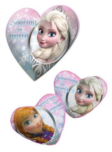 Polštářek srdce Ledové Království 40 cm