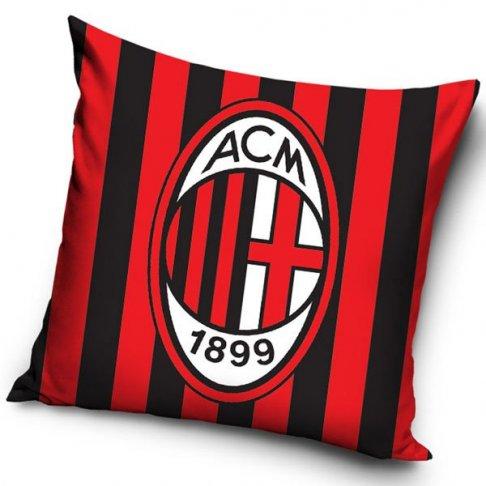 Povlak na polštářek AC Milán pruhy 40/40