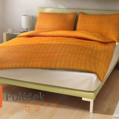 Povlečení exklusive micro Pomerančová 140/220