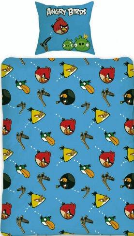 Povlečení Angry Birds Slingshot 140/200
