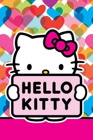 Dětský ručník Hello Kitty Mimi Love 60/40