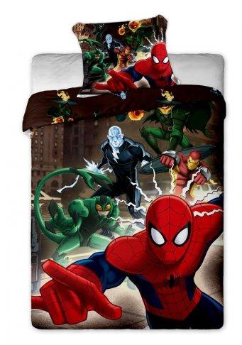 Povlečení Spiderman brown 140/200