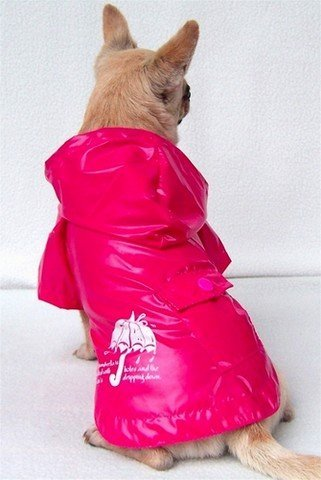 Nepromokavý kabátek - pláštěnka pro psy