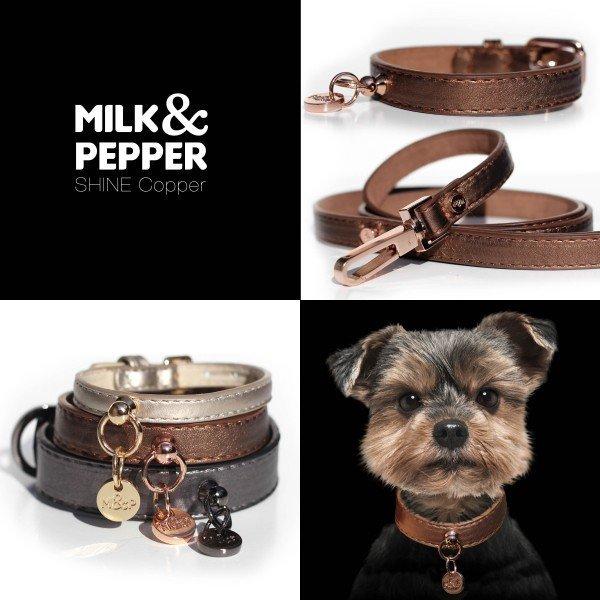 Luxusní kožený obojek Cooper pro psa