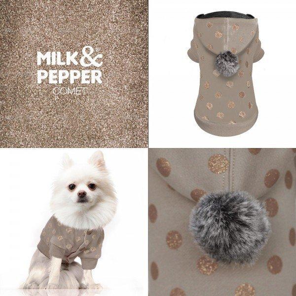 Obleček mikina s kapucí pro psy